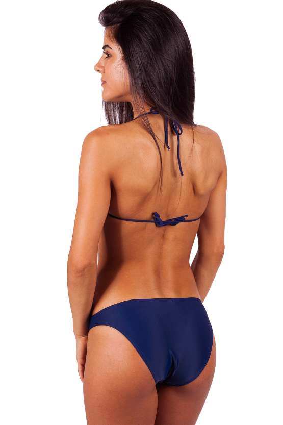 Дамски бански онлайн, едноцветни банки бикини, бански бикини