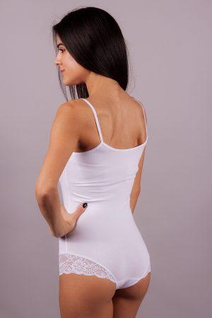 Дамско боди боксер с тънки прзрамки