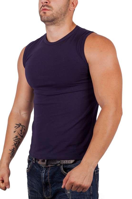 Мъжки тениски без ръкав, мъжки памучни полу тениски