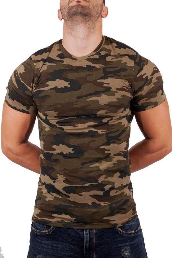Мъжки тениски камуфлажен десен, мъжки камуфлажни тениски