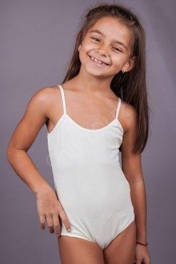 Детско боди тънки презрамки, детско българско памучно бельо, качествено детско памучно бельо