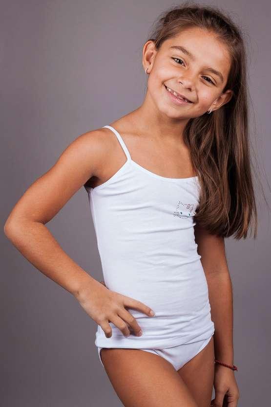 Детски комплекти потник и бикини, детско българско памучно бельо