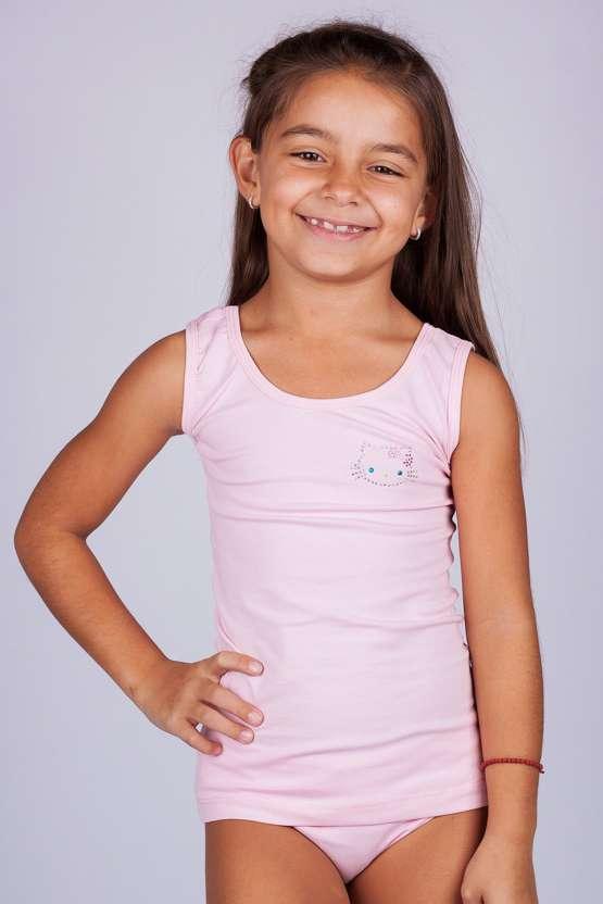 Детски комплект потник и бикини, детско българско памучно бельо