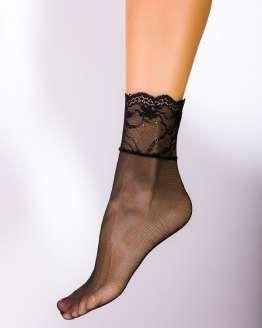 Дамски чорапи с дантела, къси чорапи с дантела, секси дамски чорапи
