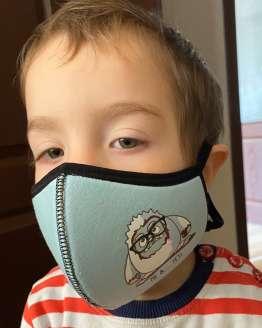 Детски предпазни маски против грип, противогрипни детски маски