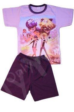 Летни детски памучни пижами