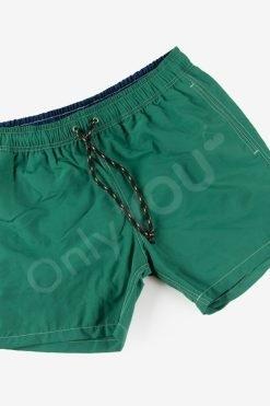 Мъжки плувни шорти Зелено