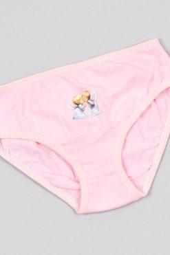 Детски памучни бикини за момиче розово