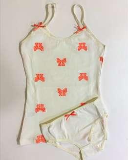 Детски памучни комплекти за момиче