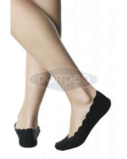 Безшевни дамски чорапи тип терлик