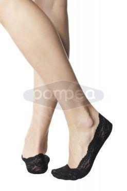 Дантелени чорапи тип терлик