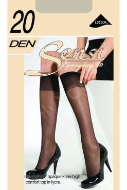 3/4 дамски чорапи ликра