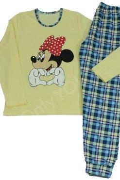 Дамска пижама памук Мики