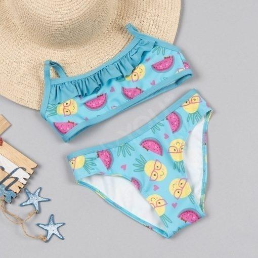 Детски бански с бюстие Blue Summer