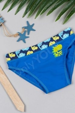 Детски бански слип Light blue Roar