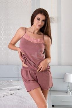 Пижама модал потник и шорти Roseash