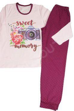 Дамска пижама памук Sweet Memory