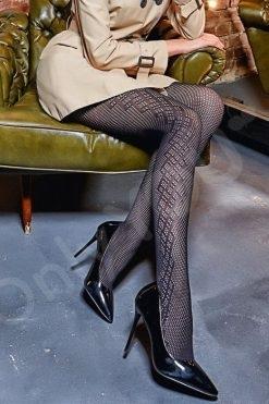 Фигурален чорапогащник Saty Rete 100den